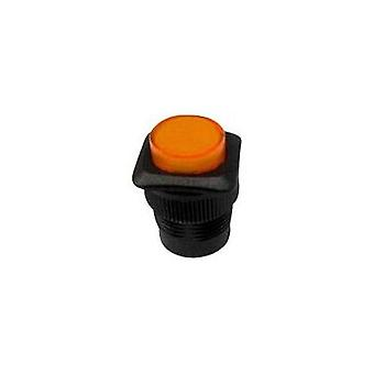 Pushbutton 250 Vac 1.5 A 1 x Off/(On) SCI R13-508AL-05YL momentary 1 pc(s)