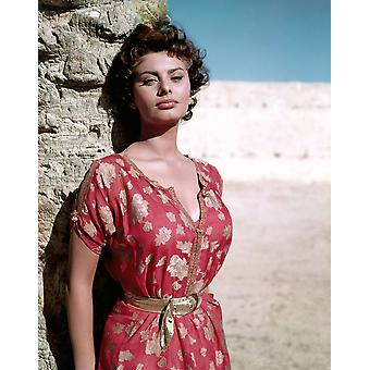 Legend Of The Lost Sophia Loren 1957 Photo Print