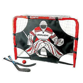 BAUER Deluxe knee hockey goal set 30.5