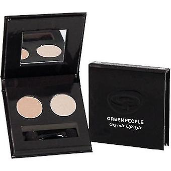 Green People Illuminating Eye Shadow - Pink Satin (Damen , Make-Up , Augen , Lidschatten)