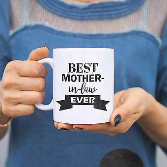 Best Mother In Law Ever Mug Cup Mothers Day Or Christmas Gifts For Mother-in-law