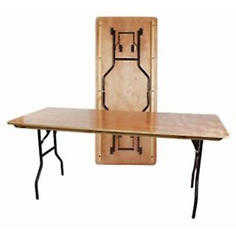 Astro Banqueting Table - Wood And Steel - Folding- Rectangle