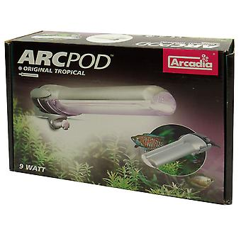 ARC Pod lille akvarium lys med kompakt lygte 9w