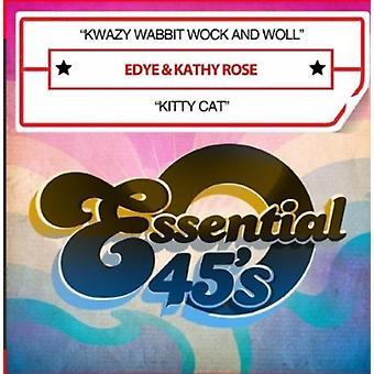 Edye idealna Kathy Rose - Kwazy Wabbit Wock i Woll / import USA Kitty Cat