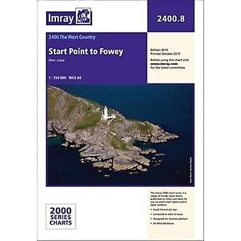 Imray Chart: Start Point to Fowey (2000 Series) (Paperback) by Imray