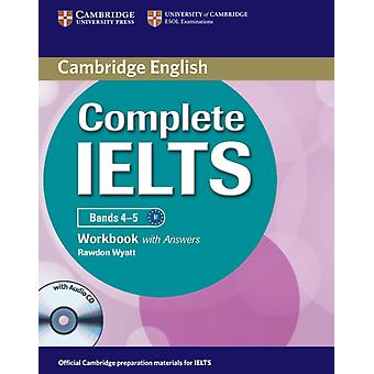 Complete IELTS Bands 4-5 Workbook with Answers with Audio CD (Paperback) by Wyatt Rawdon
