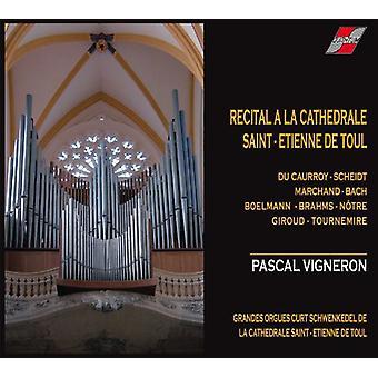 Pascal Vigneron - skäl en La Cathedrale De Toul [CD] USA import