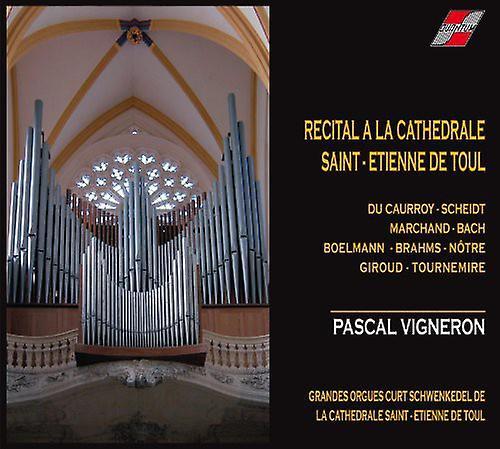 Pascal Vigneron - Recital a La Cathedrale De Toul [CD] USA import