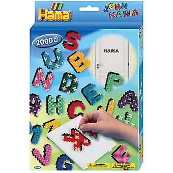Hama ABC Letters Bead Set