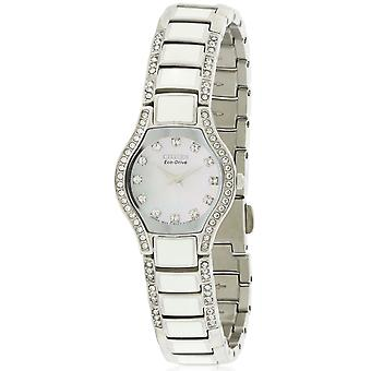 Citizen Eco Drive Normandie Crystal Ladies Watch EW9870 - 81D