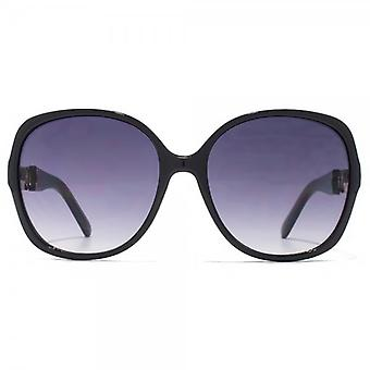 Carvela Glamourous Square Sunglasses In Black