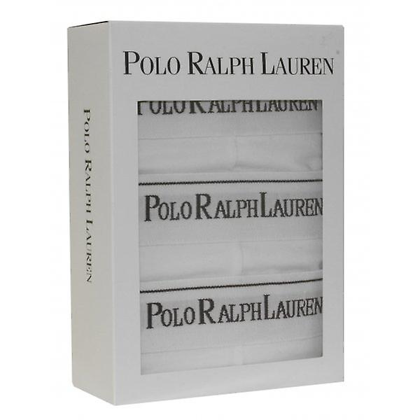 Polo Ralph Lauren 3-Pack Classic Briefs, White