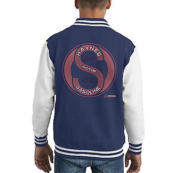 Haynes Marke Sparkford Motor Benzin Kid Varsity Jacket