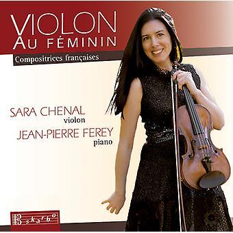 Bonis / Chenal / Ferey - Violon Au Feminin - franske kvinder komponister [CD] USA import