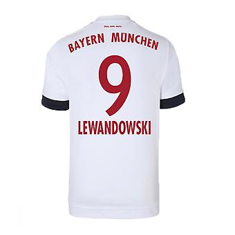 2015-16 Bayern Munich Away Shirt (Lewandowski 9)