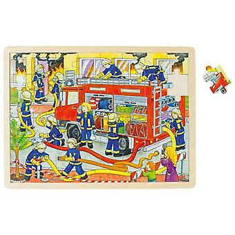 Goki Puzzle, firefighting (Toys , Boardgames , Puzzles)