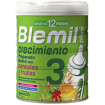 Blemil Blemil Growth Plus 3 Cereals Fruits 800g