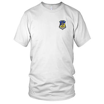 USAF Airforce - Patrol Dog School Lackland A.F.B. Texas Embroidered Patch - Ladies T Shirt