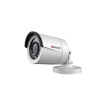 HiWatch 1MP bullet network camera, 720 p, 4 mm F2.0, IP66, IR, white
