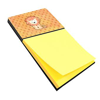 كارولين الكنوز BB7374SN أسد القماش المنقط المائية Sticky Note حامل