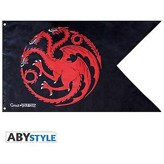 Abysse Game Of Thrones Flag Targaryen