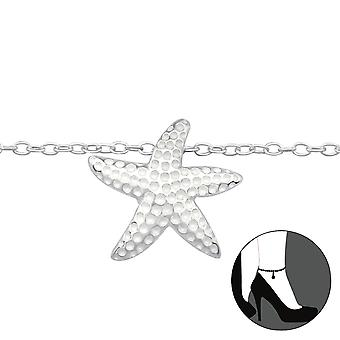 Starfish - 925 Sterling Silver Anklets - W27641x