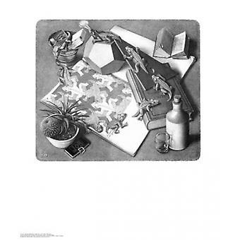 Reptielen Poster Print by MC Escher (22 x 26)