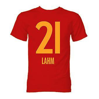 Philipp Lahm Bayern München helten T-Shirt (rød)