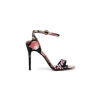 Women's Mirobep Heeled Sandals - Black Peach Blossom