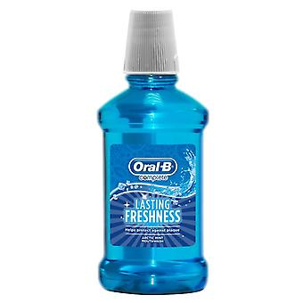 Oral B Complete Lasting Freshness Arctic Mint Mouthwash 250ml