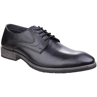 Hush Puppies Mens Carlos Luganda Formal Lace Up Leather Oxford Shoes