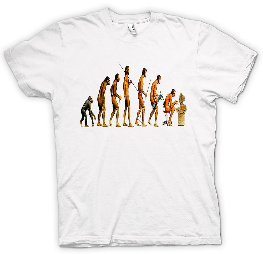 T-shirt - Mans Evolution - divertente