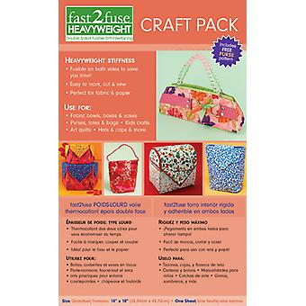 Fast2fuse Craft Pack Interfacing Heavy Weight 14