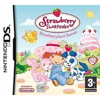 Jordbær Marie Jordbærland spil (Nintendo DS)