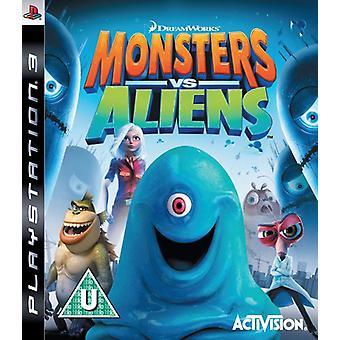 Monsters vs Aliens (PS3)