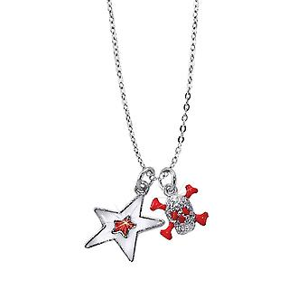 Scout children necklace chain Silver Star pirate girls 261099200