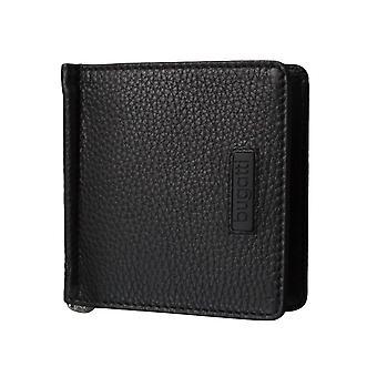 Bugatti hombres billetera tarjeta caso monedero con clip del dinero 3580