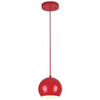 ويستنغهاوس واحد قلادة الضوء الأحمر عالي اللمعان