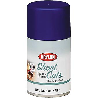 Short Cuts Aerosol Paint 3oz-Iris