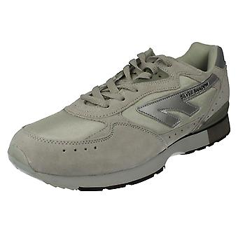 Mens Hi-Tec Trainers Silver Shadow Original