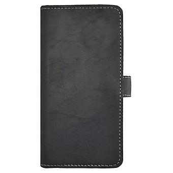 Essentials Leather Booklet Case iPhone 5/5S Black