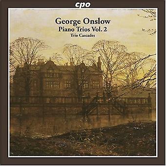 G. Onslow - George Onslow: Piano tríos, importación USA Vol. 2 [CD]