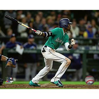 Dee Gordon 2018 Action Photo Print