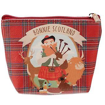 Bonnie Scotland PVC Purse with Scottish Piper
