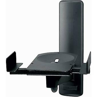 B-Tech BT77 Speaker wall mount Tiltable, Swivelling Distance to wall (max.): 27.3 cm Black 1 pair