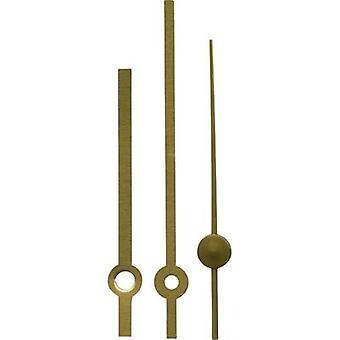 Clockhand set Polished/Standard Brass Brass Round