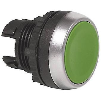 Bouton poussoir avant anneau (PVC), acier chromé noir BACO L21AA03 1 PC (s)