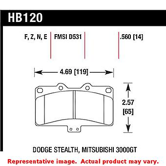 Hawk 'Performance Street' Brake Pads HB120N.560 Fits:DODGE 1991 - 1992 STEALTH