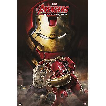 Marvel Avengers Lebensjahr Ultron Hulkbuster Hfe Plakat Poster drucken