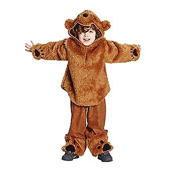 Urso urso traje traje animal para crianças